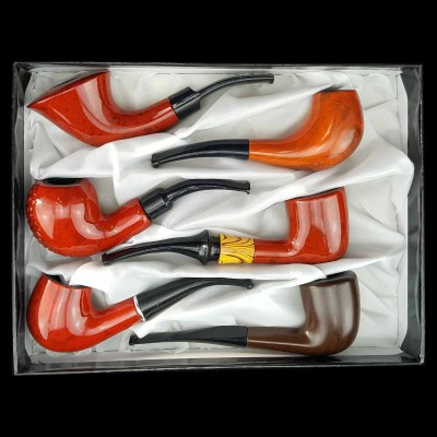 Smoking wood pipe Wooden Mini Pipe SWP56