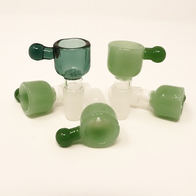 14 MM Male Glass Bowl with Ice Catcher BMD1 5CT/Pack