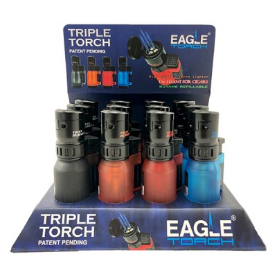 Eagle Luxury Triple Torch PTT100 12CT/Pack