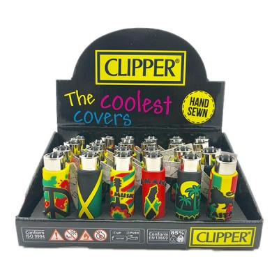 CLIPPER LIGHTER JAMAICAN POP COVER EDITION 24CT/PACK