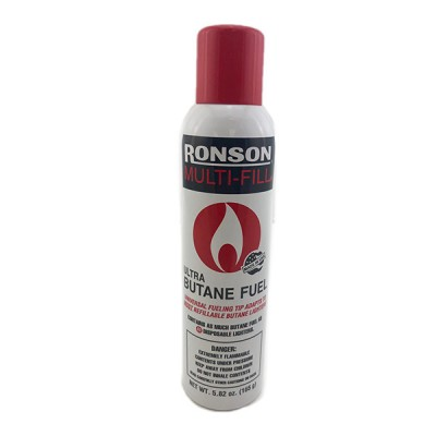 RONSON MULTI-FILL BUTANE 5.82 OZ 165GM 12CT/PACK