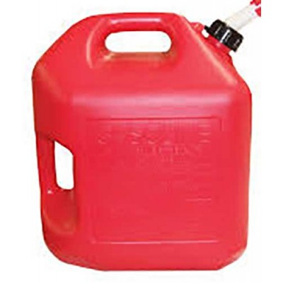 Gas Cans 5 Gallon Red 1CT