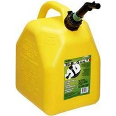 Gas Cans 5 Gallon Yellow diesel 1CT