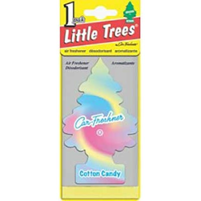 Little Tree Cotton candy Air Freshners loose 24CT/Pack