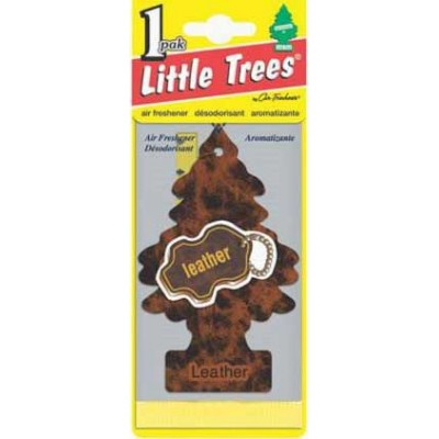 Little Tree Leather Air Freshners Loose 24CT/Pack