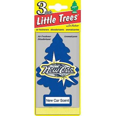 Little Tree New Car Scent Air Freshners Loose 24CT/Pack