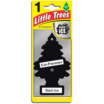 Little Tree Black Ice Air Freshners Loose 24CT/Pack