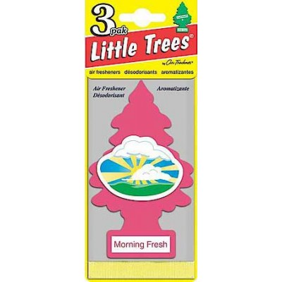 Little Tree Morning Fresh Air Freshners Loose 24CT/Pack