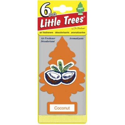 Little Tree Coconut Strip Air Freshners 24CT/Pack