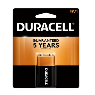 Duracell Batteries 9 Volt USA 12CT/Pack