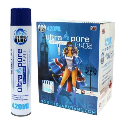 SPECIAL BLUE ULTRA PURE BUTANE 12CT/ DISPLAY ( BUY 1 GET 1 FREE )