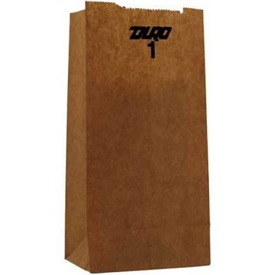 DURO Brown Paper Bags 500CT/Pack