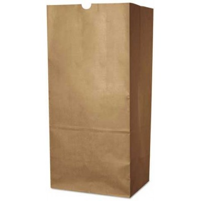 DURO Brown Paper Bags 8 LB 500CT/Pack