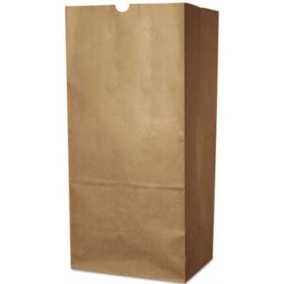 DURO Brown Paper Bags 12 LB 500CT/Pack