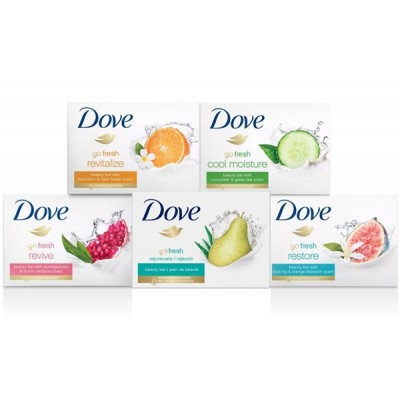Dove Beauty Bar, White 4.75 oz Regular