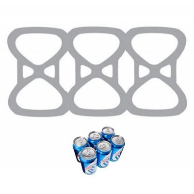 Six Pack Beer Can Rings 1000
