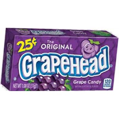 Chewy Lemonhead Grape Candy 24CT/Pack