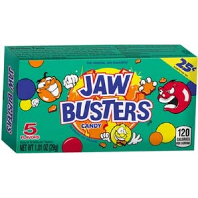 Chewy Lemonhead Jaw Buster Candy 24CT/Pack