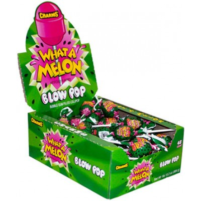 CHARM BLOW POP whata melon .25 Candy 48CT/Pack