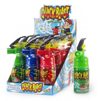 NOVELTY QUICKBLAST SOUR CANDY SPRAY