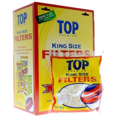 Top premium Cigarette Filter Tips 18MM King Size 16CT/PACK
