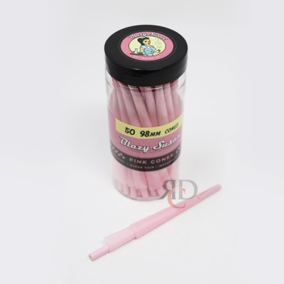 BLAZY SUSAN 98MM PINK CONE 50CT/ JAR