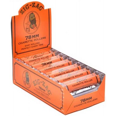 ZIG ZAG 78MM CIGARETTE ROLLERS 12CT/PACK