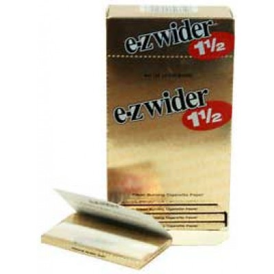 E-Z Wider gold 1 1/2 Cigarette Rolling papers 24CT/PACK