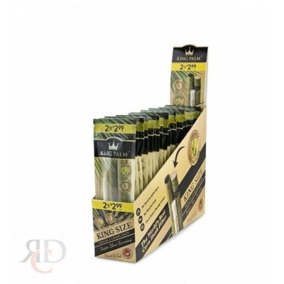 KING PALM KING SIZE 2PK - PRE-PRICE $2.99 - 20CT/PACK