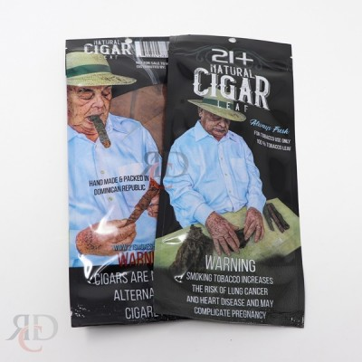 21+ CIGAR FLAT LEAF 1CT