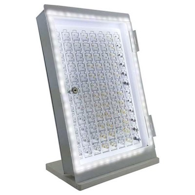 CZ Stud LED Earing Display 96CT/Pack