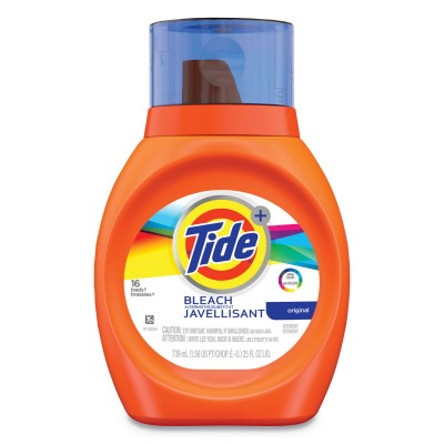 TIDE ULTRA LIQUID 2X W/BLEACH 1CT