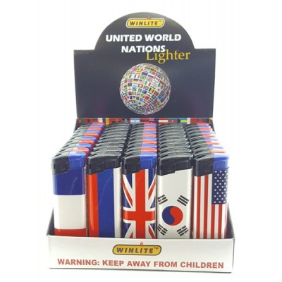 Lighters Flag Win 4 50CT/Pack
