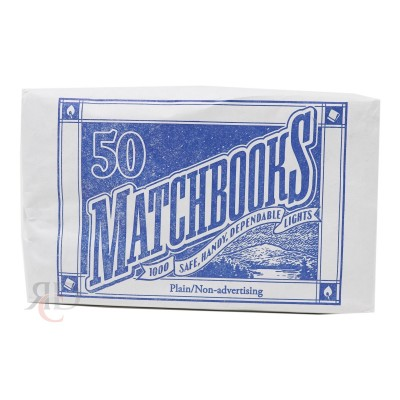 MATCH BOOKS 6CT/PACK
