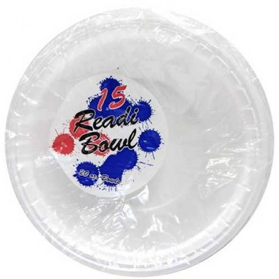 FOAM BOWLS BIG 20OZ 15CT/ PACK