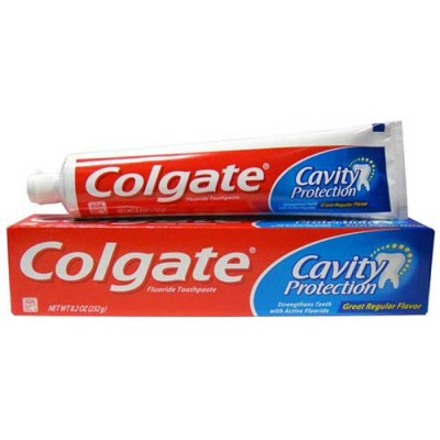 Colgate Toothpaste, Anticavity Fluoride, Cavity Protection, 8.2 oz (Pack of 6)