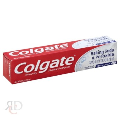 COLGATE BAKING SODA & PEROXIDE 8OZ 6CT/PACK