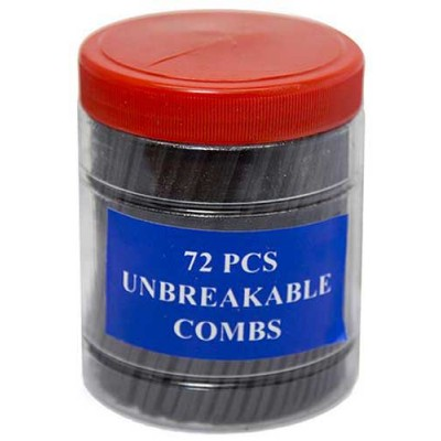 COMBS plastic jar 72CT/PACK