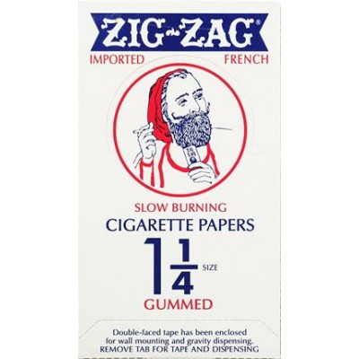 Zig Zag Orange 1 1/4 Cigarette Rolling Papers 24CT/PACK
