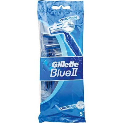 Gillette Blue II Plus Blades Sens (Pack of 2)