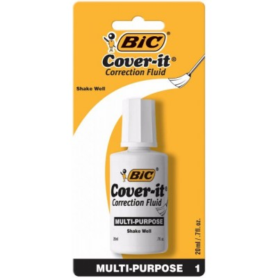 BIC COVER IT CORRECTION FLUID 1CT