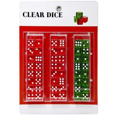 Toys Clear Dice Pad 1CT