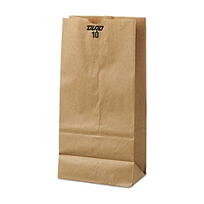 DURO Brown Paper Bags #10 10LB