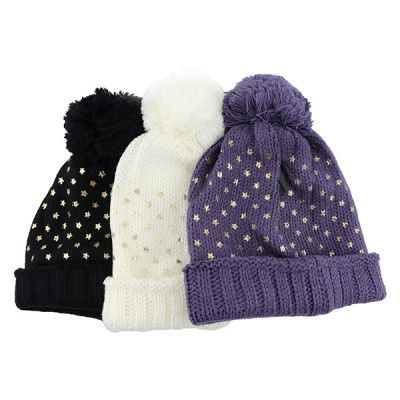 LADIES FASHION HATS WITH FUR LINING