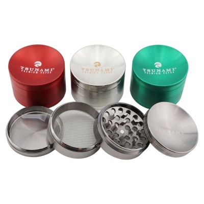 TSUNAMI GRINDER 63MM CAVED TOP GRD117