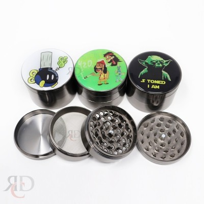 Grinder 4 Part 2.4 in Zinc Rick Mory GRD1302