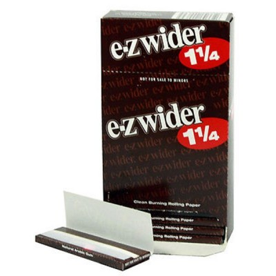 E-Z Wider 1 1/4 Cigarette Rolling papers 24CT/PACK