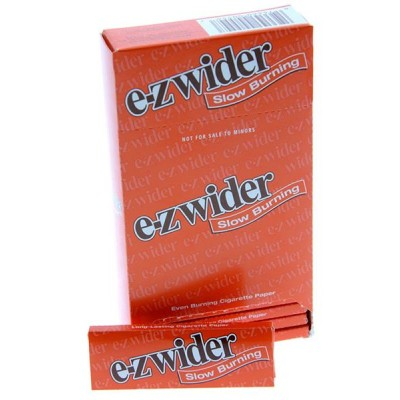 E-Z Wider Slow Burner Cigarette Rolling papers 4CT/PACK