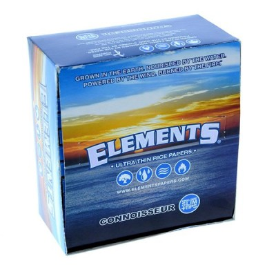 Elements Ultra Connoisseur king Slim With Tips Cigarette Rolling papers 24CT/PACK