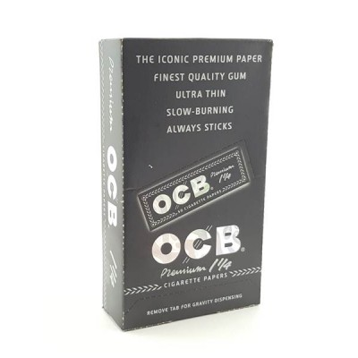OCB Premium 11/4 Cigarette Rolling Papers 1CT